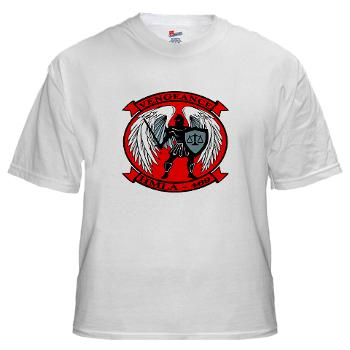 MLAHS469 - A01 - 04 - Marine Light Attack Helicopter Squadron 469 - White T-Shirt