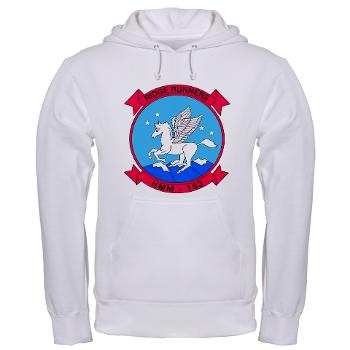 MMHS163 - A01 - 03 - Marine Medium Helicopter Squadron 163 - Hooded Sweatshirt