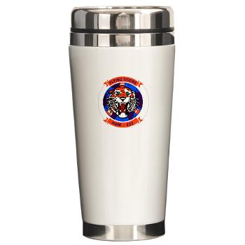 MMHS262 - M01 - 03 - Marine Medium Helicopter Squadron 262 Ceramic Travel Mug