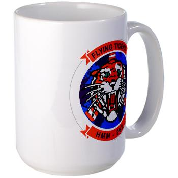 MMHS262 - M01 - 03 - Marine Medium Helicopter Squadron 262 Large Mug