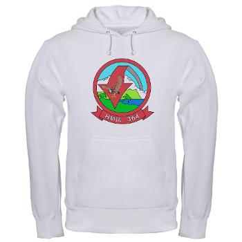 MMHS364 - A01 - 03 - Marine Medium Helicopter Squadron 364 - Hooded Sweatshirt