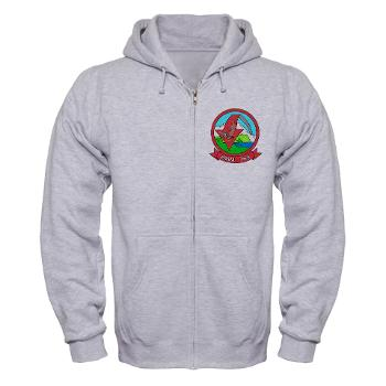 MMHS364 - A01 - 03 - Marine Medium Helicopter Squadron 364 - Zip Hoodie