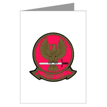 MMTS162 - M01 - 02 - Marine Medium Tiltrotor Squadron 162 Greeting Cards (Pk of 10)