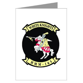 MMTS165 - A01 - 01 - USMC - Marine Medium Tiltrotor Squadron 165 - Greeting Cards (Pk of 20)