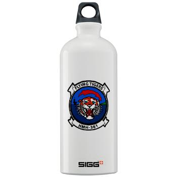 MHHS361 - M01 - 03 - Marine Heavy Helicopter Squadron 361 Sigg Water Bottle 1.0L