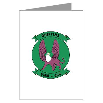 MMTS266 - A01 - 01 - USMC - Marine Medium Tiltrotor Squadron 266 (VMM-266) - Greeting Cards (Pk of 10)