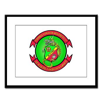 MPC - A01 - 01 - Military Police Company - Large Framed Print