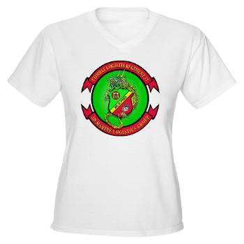 MPC - A01 - 01 - Military Police Company - Women's V-Neck T-Shirt