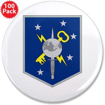 "MSOIB - M01 - 01 - Marine Special Operations Intelligence Battalion - 3.5"" Button (100 pack)"