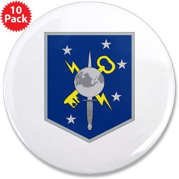 "MSOIB - M01 - 01 - Marine Special Operations Intelligence Battalion - 3.5"" Button (10 pack)"