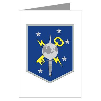 MSOIB - M01 - 02 - Marine Special Operations Intelligence Battalion - Greeting Cards (Pk of 20)