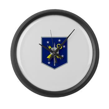 MSOIB - M01 - 03 - Marine Special Operations Intelligence Battalion - Large Wall Clock