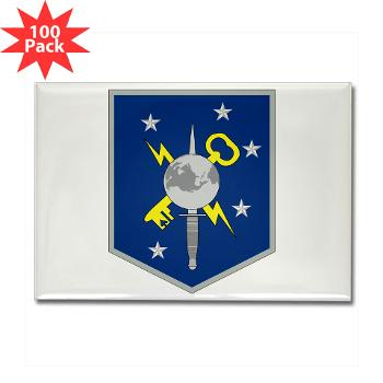 MSOIB - M01 - 01 - Marine Special Operations Intelligence Battalion - Rectangle Magnet (100 pack)
