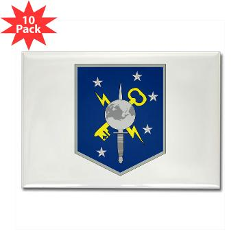 MSOIB - M01 - 01 - Marine Special Operations Intelligence Battalion - Rectangle Magnet (10 pack)