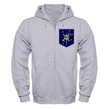 MSOIB - A01 - 03 - Marine Special Operations Intelligence Battalion - Zip Hoodie