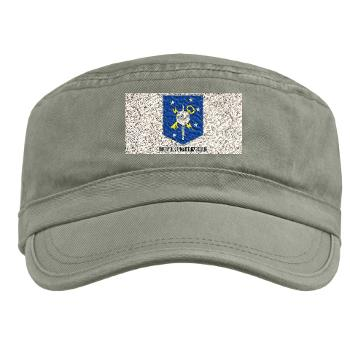 MSOIB - A01 - 01 - Marine Special Operations Intelligence Battalion with Text - Military Cap