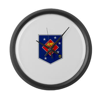 MSOR - M01 - 03 - Marine Special Operations Regiment - Large Wall Clock