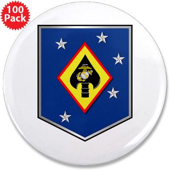 "MSOSG - M01 - 01 - Marine Special Operations Support Group - 3.5"" Button (100 pack)"