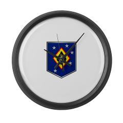 MSOSG - M01 - 03 - Marine Special Operations Support Group - Large Wall Clock