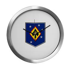 MSOSG - M01 - 03 - Marine Special Operations Support Group - Modern Wall Clock