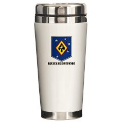 MSOSG - M01 - 03 - Marine Special Operations Support Group with Text - Ceramic Travel Mug