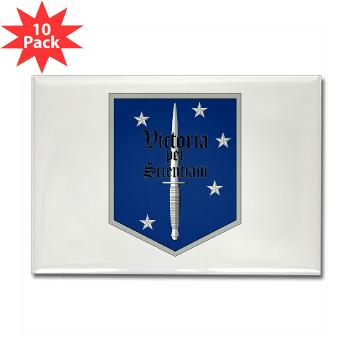MSOS - M01 - 01 - Marine Special Operations School - Rectangle Magnet (10 pack)