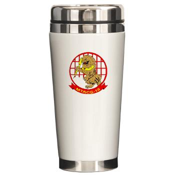 MTACS18 - A01 - 01 - Marine Tactical Air Command Squadron 18 - Ceramic Travel Mug