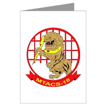 MTACS18 - A01 - 01 - Marine Tactical Air Command Squadron 18 - Greeting Cards (Pk of 10)