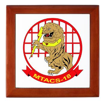 MTACS18 - A01 - 01 - Marine Tactical Air Command Squadron 18 - Keepsake Box