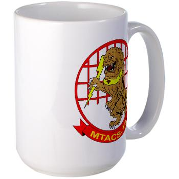 MTACS18 - A01 - 01 - Marine Tactical Air Command Squadron 18 - Large Mug
