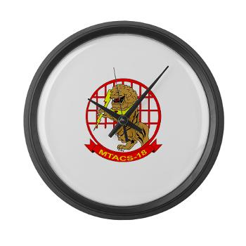 MTACS18 - A01 - 01 - Marine Tactical Air Command Squadron 18 - Large Wall Clock