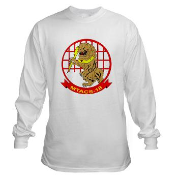 MTACS18 - A01 - 01 - Marine Tactical Air Command Squadron 18 - Long Sleeve T-Shirt