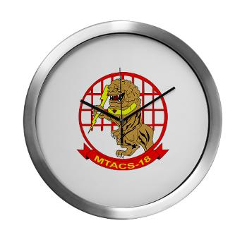 MTACS18 - A01 - 01 - Marine Tactical Air Command Squadron 18 - Modern Wall Clock