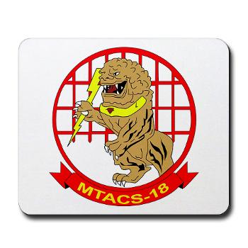 MTACS18 - A01 - 01 - Marine Tactical Air Command Squadron 18 - Mousepad