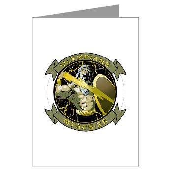 MTACS28 - M01 - 02 - Marine Tactical Air Command Squadron 28 (MTACS-28) Greeting Cards (Pk of 20)