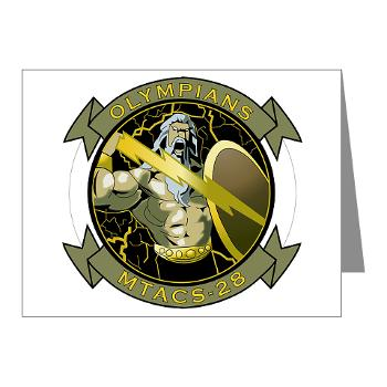 MTACS28 - M01 - 02 - Marine Tactical Air Command Squadron 28 (MTACS-28) Note Cards (Pk of 20)