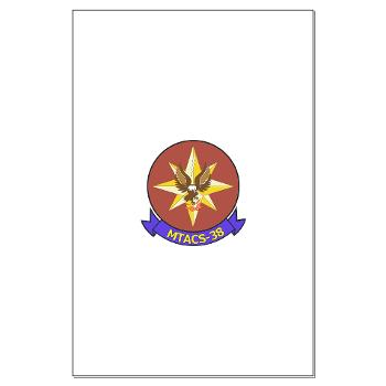 MTACS38 - M01 - 02 - Marine Tactical Air Command Sqdrn 38 Large Poster