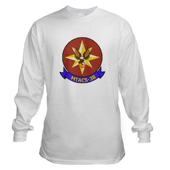 MTACS38 - A01 - 03 - Marine Tactical Air Command Sqdrn 38 Long Sleeve T-Shirt