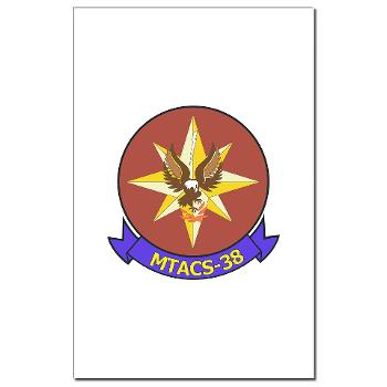 MTACS38 - M01 - 02 - Marine Tactical Air Command Sqdrn 38 Mini Poster Print