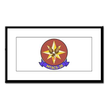 MTACS38 - M01 - 02 - Marine Tactical Air Command Sqdrn 38 Small Framed Print