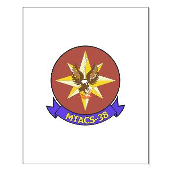 MTACS38 - M01 - 02 - Marine Tactical Air Command Sqdrn 38 Small Poster