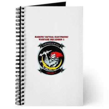 MTEWS1 - M01 - 02 - Marine Tactical Electronic Warfare Squadron with Text Journal