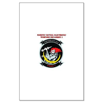 MTEWS1 - M01 - 02 - Marine Tactical Electronic Warfare Squadron with Text Large Poster