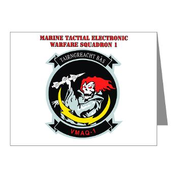MTEWS1 - M01 - 02 - Marine Tactical Electronic Warfare Squadron with Text Note Cards (Pk of 20)
