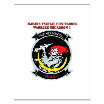 MTEWS1 - M01 - 02 - Marine Tactical Electronic Warfare Squadron with Text Small Poster