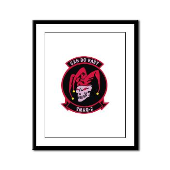MTEWS2 - M01 - 02 - Marine Tactical Electronic Warfare Squadron 2 (VMA) - Framed Panel Print
