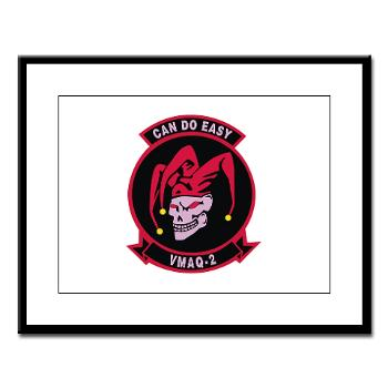 MTEWS2 - M01 - 02 - Marine Tactical Electronic Warfare Squadron 2 (VMA) - Large Framed Print