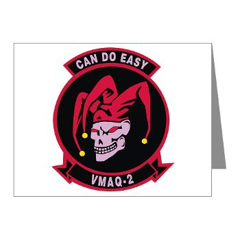 MTEWS2 - M01 - 02 - Marine Tactical Electronic Warfare Squadron 2 (VMA) - Note Cards (Pk of 20)