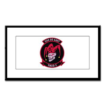 MTEWS2 - M01 - 02 - Marine Tactical Electronic Warfare Squadron 2 (VMA) - Small Framed Print