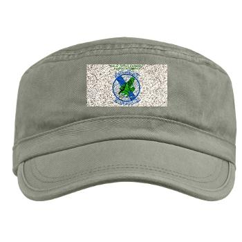 MTEWS4 - A01 - 01 - Marine Tactical Electronic Warfare Squadron 4 with Text - Military Cap
